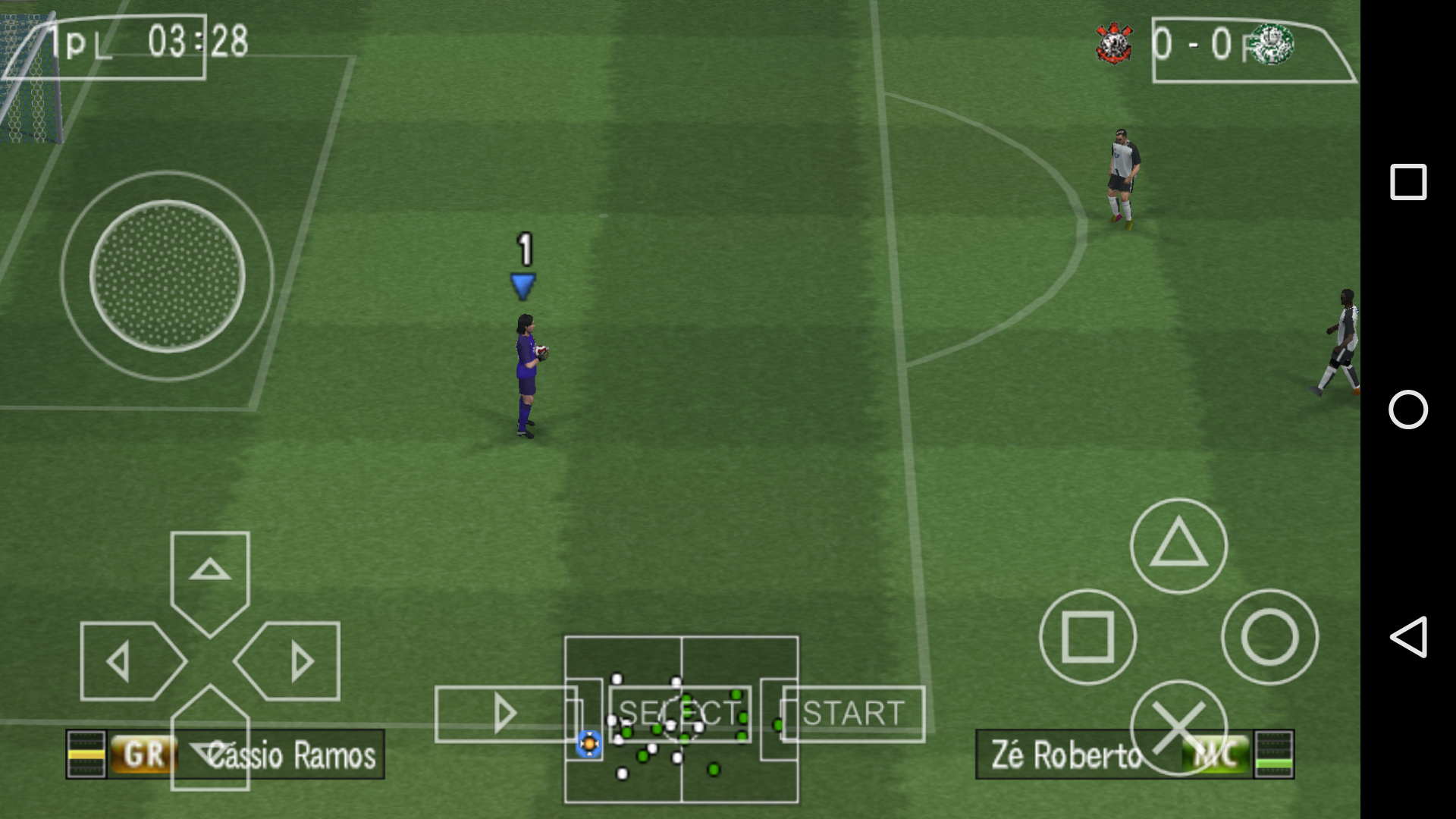 Pro Evolution Soccer 2016 (Pes 2016 Brasileirão) PSP.