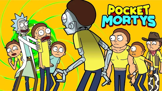 Download - Pocket Mortys v2.5.17 Apk Mod [Dinheiro Infinito] - Winew