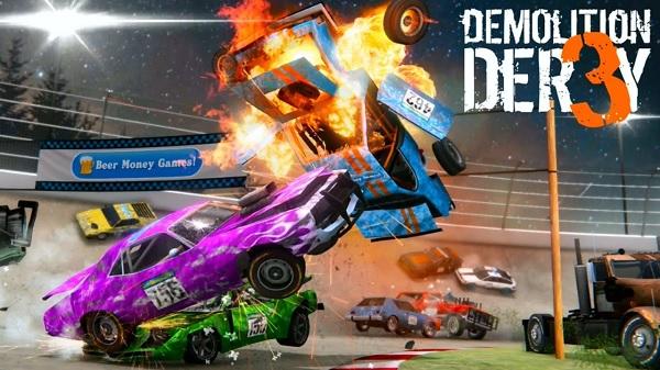 Demolition Derby 3 v1.1.004 Apk Mod [Dinheiro Infinito]