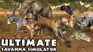 Ultimate Savanna Simulator v1.1 Apk Full