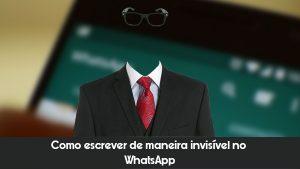 Tutorial – Como escrever de maneira invisível no WhatsApp |